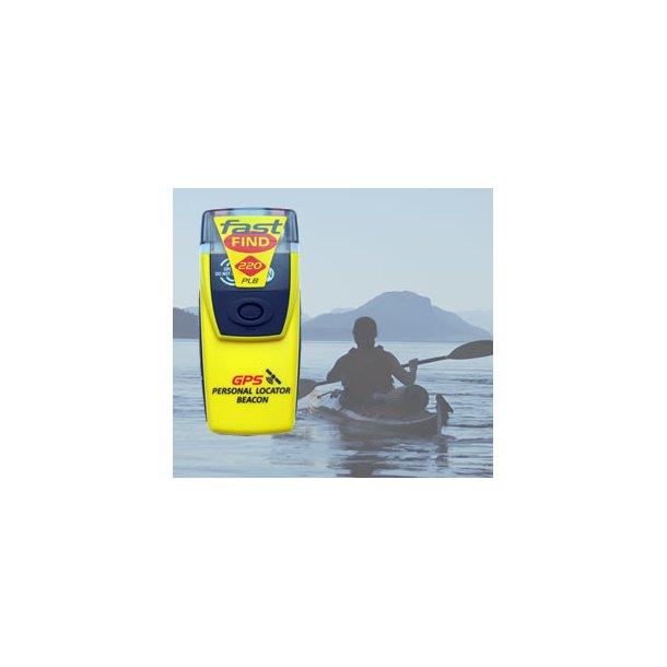 Mc. Murdo PLB / Fastfind 220 med GPS.
